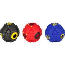 1 Balle Mimas distributrice de friandises + son pour chiens ø 12.5 cm Accessoire alimentaire Flamingo FL-517821