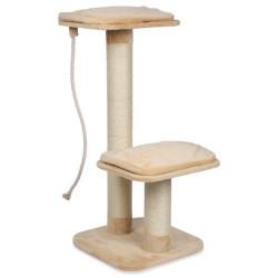 Petit arbre a chat Griffoir pour grand chat 56 x 56 x 122 cm Arbre a chat, griffoir Flamingo FL-5334202
