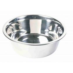 Écuelles acier inox 2.8 L ø 24 cm pour chien Accessoire alimentaire Trixie TR-24844