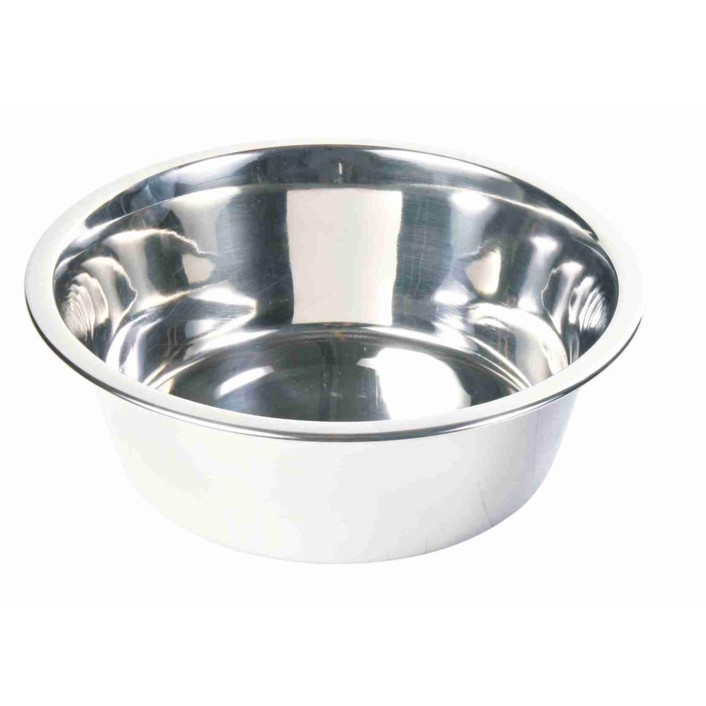 Écuelles acier inox 4.5 L ø 28 cm pour chien Accessoire alimentaire Trixie TR-24845