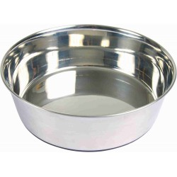 Écuelle en acier inox 1 l / ø 17 cm pour chien Accessoire alimentaire Trixie TR-25072