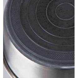 Écuelle en acier inox 2.5 l / ø 24 cm pour chien Accessoire alimentaire Trixie TR-25074