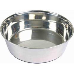 Trixie 2.5 litres ø 24 cm Écuelle en acier inox pour chien TR-25074 Gamelle, écuelle