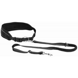 TR-12767 Trixie Cinturón con correa para perros Tamaño del vientre: 75-120 cm Canicross