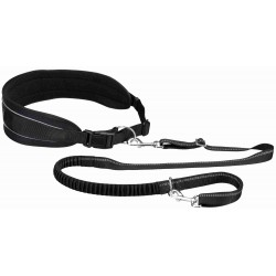 Trixie TR-12768 Belt belt with leash for dogs Belly size: 90-135 cm Canicross