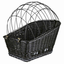 Trixie TR-13117 Bicycle basket, size: 35 x 49 x 55 cm, for dogs up to 12 kg Bicycle basket