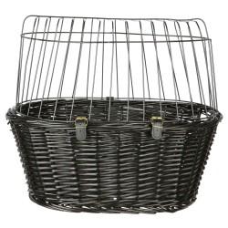 Trixie Panier pour vélo pour chien max 8 kg 50 × 41 × 35 cm TR-2818 Panier pour vélo