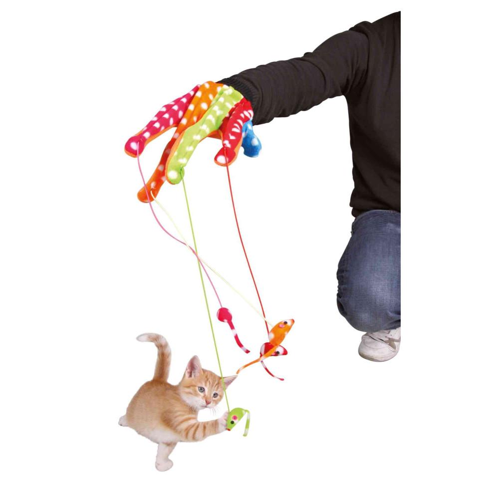 Gant avec souris pour chat Jeux Trixie TR-45631
