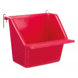 Trixie TR-5472 a hanging trough with metal stand, size 130 ml 8 x 7 cm Feeding troughs, watering troughs