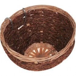 Canary bamboo and coconut breeding nest ø 15 cm - birds Cages, aviaries, nest box Flamingo FL-100499