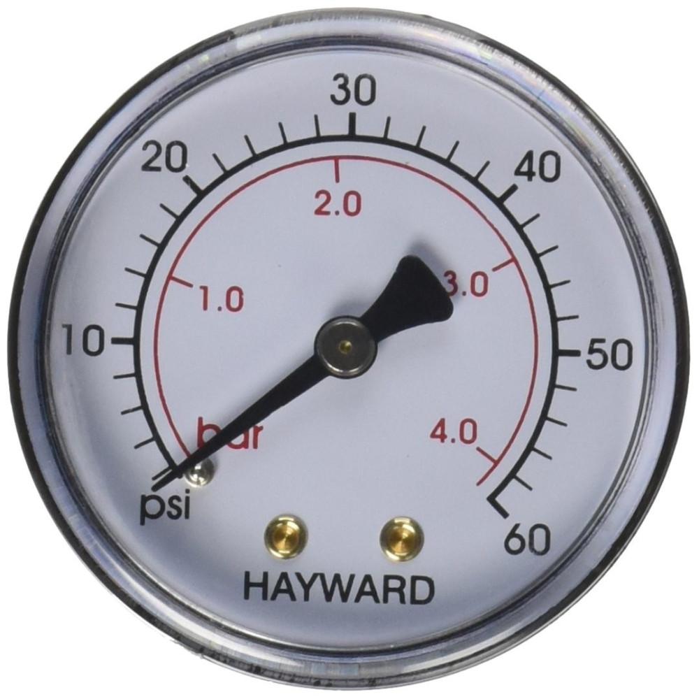 Manomètre NPT Métal Hayward ECX27091 - ECX2712B1  Manomètre HAYWARD SC-HAY-061-4087