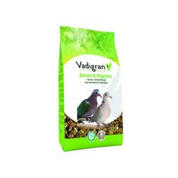 Vadigran Semi per tortore e colombe BIRDS 1Kg VA-471 Mangiare e bere