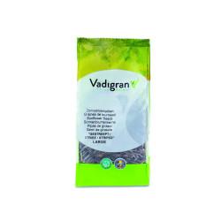 Graines pour OISEAUX grande graines de tournesol striée 0.400Kg Nourriture Vadigran VA-217010