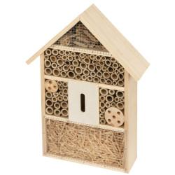 Hôtel à insectes 27.5 X 9 X 39.5 Accueil kerbl KE-82985