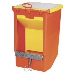 kerbl KE-74104 Feed hopper for rodent food 2.5 Litres . 18 x 26 cm Bowls, distributors