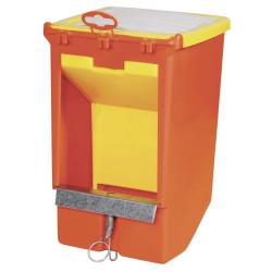 Alimentador de tolva para roedores 2,5 litros Tazones, alimentadores de bordillos KE-74104