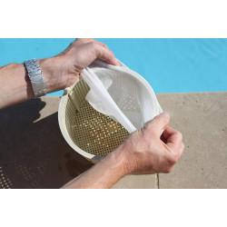 NET SKIM pré-filtre jetable pour skimmer - boite 12 pieces. Matériel entretien toucan BP-3472035-01
