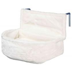 lit radiateur 45 x 13 x 33 cm pour les chats. Blanc Couchage Trixie TR-43140