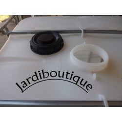 Jardiboutique SIBC1000-X2 Two IBC 1000L tanks for water reserve (no delivery in Corsica or island) ibc tank