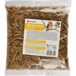 Picnick vers de farine seches 100 gr Nourriture Flamingo FL-2010012