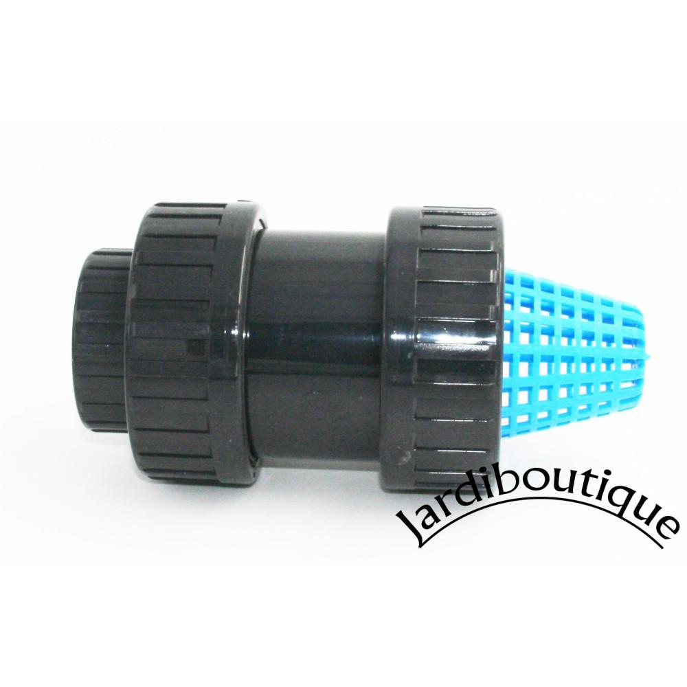 Plimat SO-CARC32 ø 32 - 1 inch, strainer with PVC check valve strainer valve