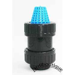 Jardiboutique ø 32 - 1 inch, strainer with PVC check valve strainer valve