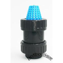 Plimat ø 32 - 1 pollice, filtro con valvola di non ritorno in PVC SO-CARC32 valvola di filtraggio