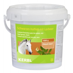 kerbl Graisse d'entretien pour sabots VERT 1000ML soins chevaux