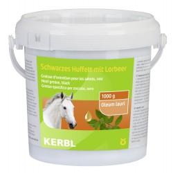Graisse d'entretien pour sabots VERT 1000ML soins chevaux  kerbl KE-321508