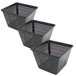 OASE BP-57078308-X3 Set of 3 Baskets 28 x 28 x 28 x 18 for aquatic pools Basket basin