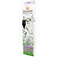Grattoir pour chat en carton 49 cm x 12 cm H 4,50 cm Griffoirs et grattoir Flamingo FL-500340