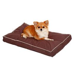 Flamingo Pet Products brown dog cushion. size 60 x 40 x 8 cm. Dodo