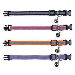 Trixie un Collier Chaton, réfléchissant, nylon - couleur aléatoire TR-41686 Halsband, Leine, Gurtzeug, Gurtzeug