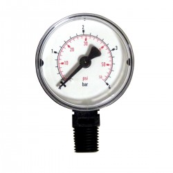 Pressure gauge for PENTAIR R152047 filters Generic pressure gauge SC-PAC-051-1653