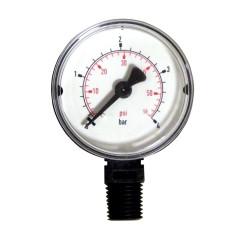 Générique  Manomètre pour filtres PENTAIR R152047 SC-PAC-051-1653  Manomètre