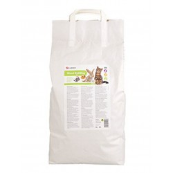 Flamingo Pet Products Wood pellet litter 10 L. for rodents and cats. Litter