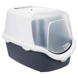 Trixie Vico Open Top Toilet House. Grey and white color. Toilet house