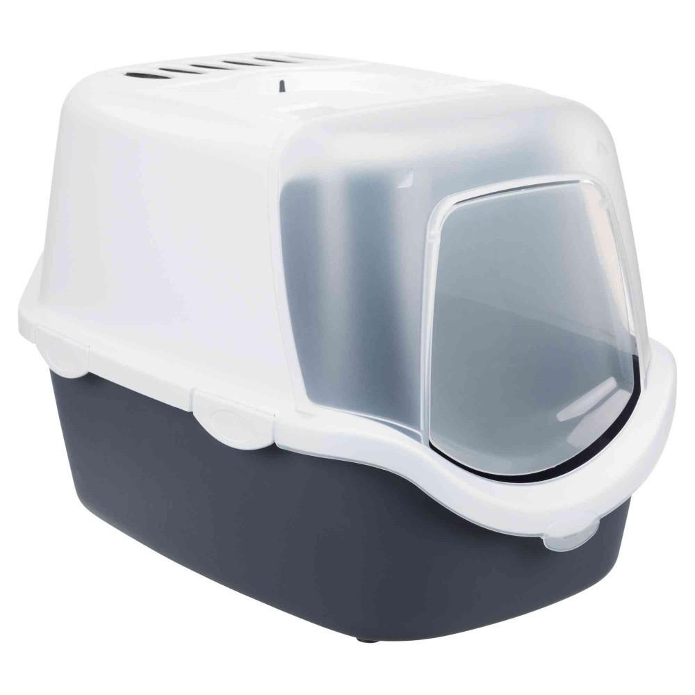 Maison de toilette Vico Open Top couleur grise et blanche