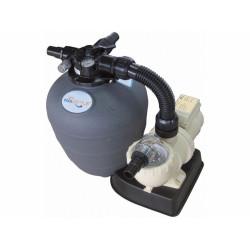 poolstyle Platine de filtration a sable 6 m3/heure poolstyle SC-PSL-050-0001 Filtre a sable et platine