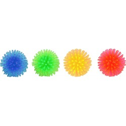 6 Hedgehog balls ø 3.5 cm cat toy Flamingo games FL-502241-X6