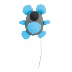 TR-45531 Trixie Ratón de gato fosforescente brillante de 10 cm Juegos