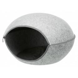 Abri douillet Luna 2 en 1.  58 × 39 × 54 cm pour chien ou chat Dodo Trixie TR-36317