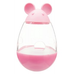 Trixie TR-41363 a 9 cm cat treat dispenser in the shape of a mouse. Random color. food accessory