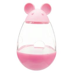TR-41363 Trixie un dispensador de golosinas para gatos de 9 cm en forma de ratón. Color aleatorio. accesorio alimentario