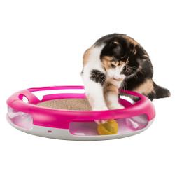 Juguete para gatos Race & Scratch ø 37 cm Trixie TR-41415 Juegos