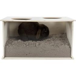 Trixie Boite à fouiner pour lapins 58 × 30 × 38 cm. Jeux, jouets, activités