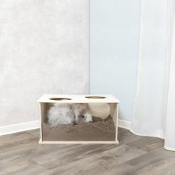 TR-63003 Trixie Caja de espionaje para conejos 58 × 30 × 38 cm. Juegos, juguetes, actividades