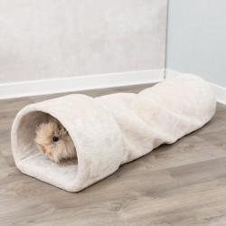 Trixie Gemütlicher Tunnel 27 × 21 × 80 cm für Kaninchen, Meerschweinchen TR-63102 Rohre und Tunnel
