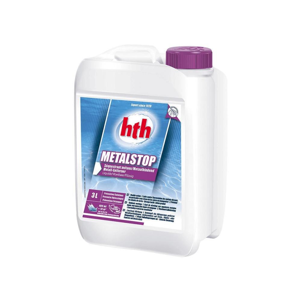 HTH Metalstop liquide 3 litres -HTH Produit de traitement