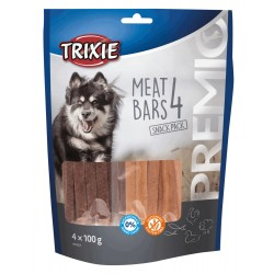 Trixie TR-31853 Raw delicacy for dog discovery pack 4x100g chicken, duck, salmon and lamb Nourriture